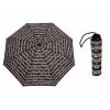 Зонтик с изображением нот - цвет черный/белый