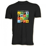 Мужская футболка - Я Можу Все, черная