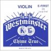 Струна для скрипки Ми Westminster, шарик/слабое