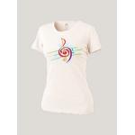 Женская футболка белая Merry Clef