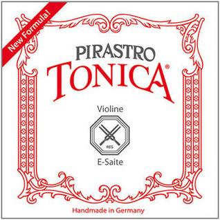 Комплект струн для Скрипки PIRASTRO Tonica, Ми сталь/алюминий