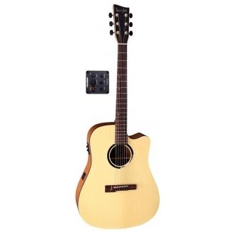 Электро-акустическая гитара VGS B-10 CE Natural Stain VG500510