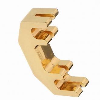 Сурдина для скрипки Practice Metal позолоченная
