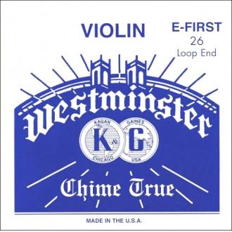Струна для скрипки Ми Westminster, петля/слабое