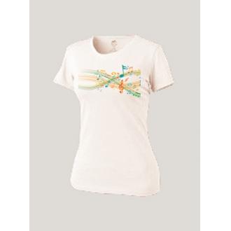 Женская футболка белая Merry Staves