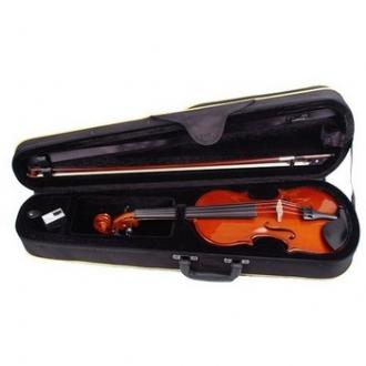 """Скрипка 4/4 """"Allegretta"""" с каплевидным футляром (Violin shape), канифолью и смычком"""