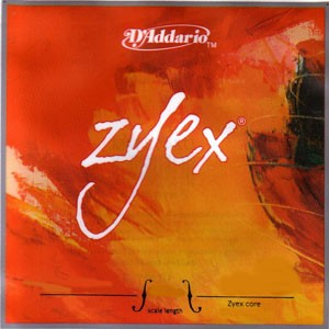 Струна для скрипки Ре D'ADDARIO Zyex серебро